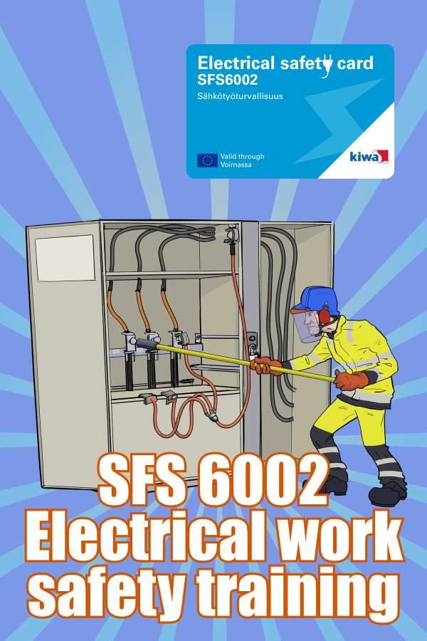 Electrical work safety training